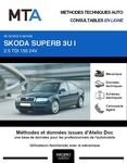 MTA Skoda Superb I berline