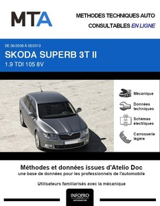 MTA Skoda Superb II 5p phase 1