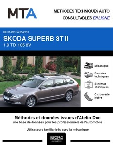 MTA Skoda Superb II break phase 1