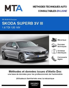 MTA Skoda Superb III 5p phase 1