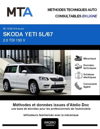 MTA Skoda Yeti break phase 2