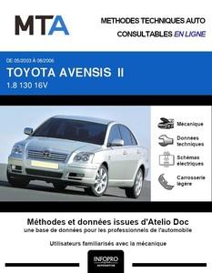MTA Toyota Avensis II 5p phase 1