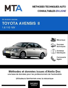 MTA Toyota Avensis II  berline phase 1