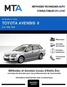 MTA Toyota Avensis II  break phase 2