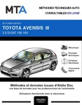 MTA Toyota Avensis III  berline phase 1