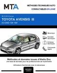 MTA Toyota Avensis III  berline phase 2