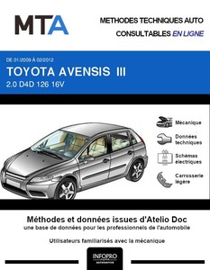 MTA Toyota Avensis III  break phase 1