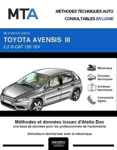 MTA Toyota Avensis III  break phase 2