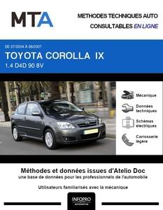MTA Toyota Corolla IX 3p phase 2