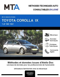 MTA Toyota Corolla IX 5p phase 1