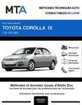 MTA Toyota Corolla IX  berline phase 2