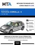 MTA Toyota Corolla X  berline phase 2