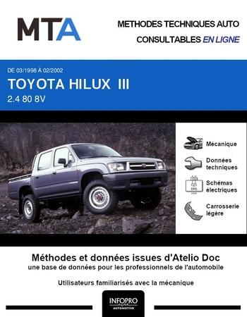 MTA Toyota Hilux VI pick-up double cabine phase 1
