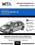 MTA Toyota Hilux VI pick-up phase 2