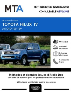 MTA Toyota Hilux VII pick-up double cabine phase 2
