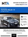 MTA Toyota Hilux VII pick-up double cabine phase 3