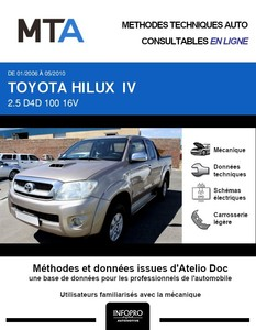 MTA Toyota Hilux VII pick-up phase 1
