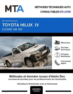 MTA Toyota Hilux VII pick-up phase 3