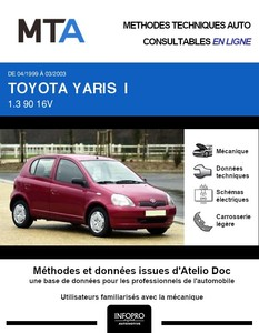 MTA Toyota Yaris I 5 portes phase 1