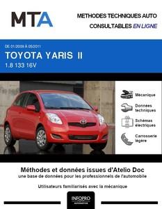 MTA Toyota Yaris II 3 portes phase 2