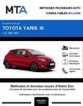 MTA Toyota Yaris III 3 portes phase 2