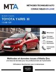 MTA Toyota Yaris III 5 portes phase 1