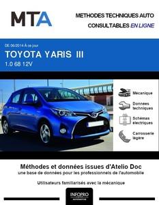 MTA Toyota Yaris III 5p phase 2