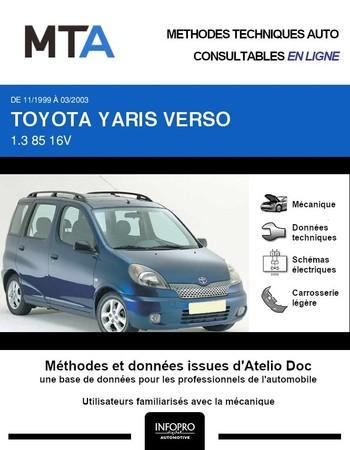 MTA Toyota Yaris Verso phase 1