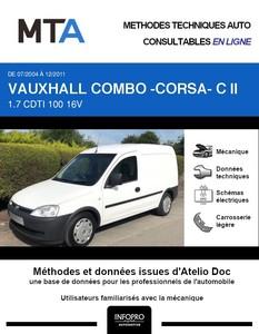 MTA Vauxhall Combo B fourgon 3p phase 2