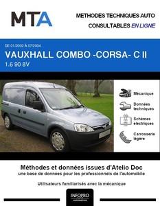 MTA Vauxhall Combo B fourgon 5p phase 1