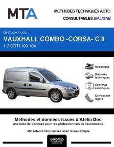 MTA Vauxhall Combo B fourgon 5p phase 2