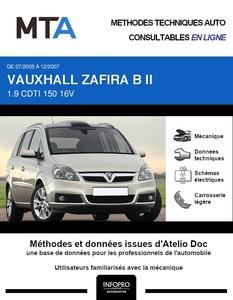 MTA Vauxhall Zafira II phase 1