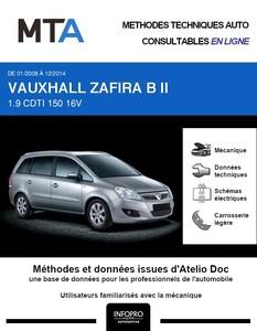 MTA Vauxhall Zafira II phase 2