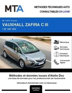 MTA Vauxhall Zafira Tourer phase 1
