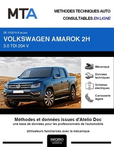 MTA Volkswagen Amarok  pick-up double cabine phase 2