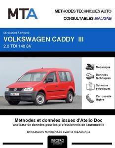 MTA Volkswagen Caddy III 4p phase 1