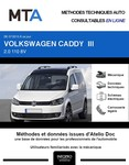 MTA Volkswagen Caddy III 4p phase 2