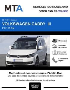 MTA Volkswagen Caddy III 4p phase 2