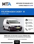 MTA Volkswagen Caddy III  fourgon 4p phase 1