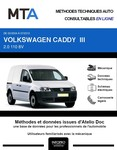 MTA Volkswagen Caddy III  fourgon 5p phase 1