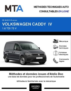 MTA Volkswagen Caddy IV fourgon 4p