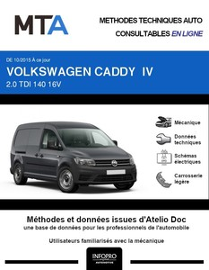MTA Volkswagen Caddy IV fourgon 5p