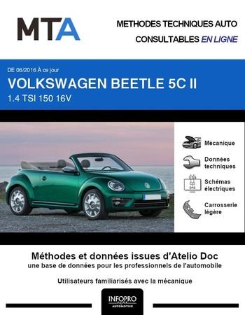 MTA Volkswagen Coccinelle III cabriolet phase 2