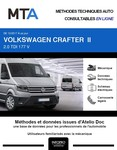 MTA Volkswagen Crafter II chassis cabine