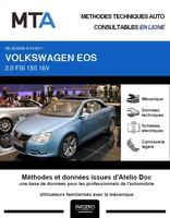 MTA Volkswagen Eos phase 1