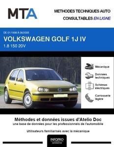 MTA Volkswagen Golf IV 5 portes