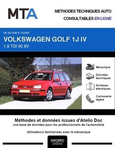 MTA Volkswagen Golf IV break
