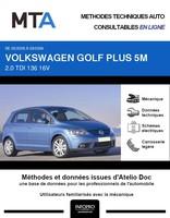 MTA Volkswagen Golf Plus phase 1