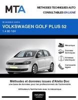 MTA Volkswagen Golf Plus phase 2