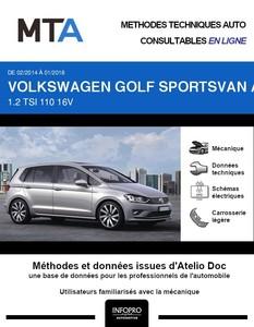 MTA Volkswagen Golf Sportsvan phase 1